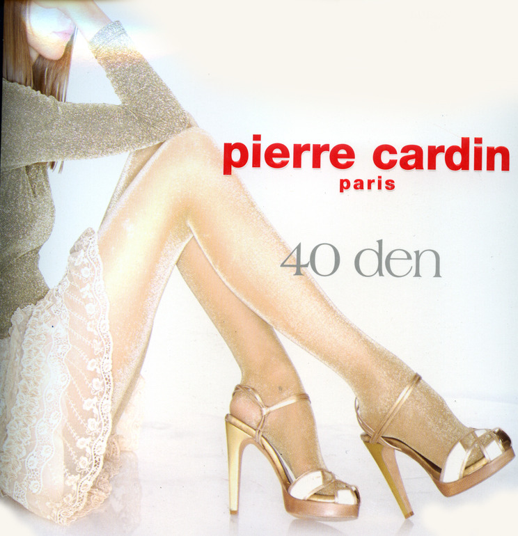 Pierre Cardin Lurex Dore