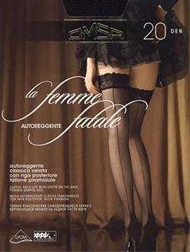 Omsa La femme fatale 20 (чулки)